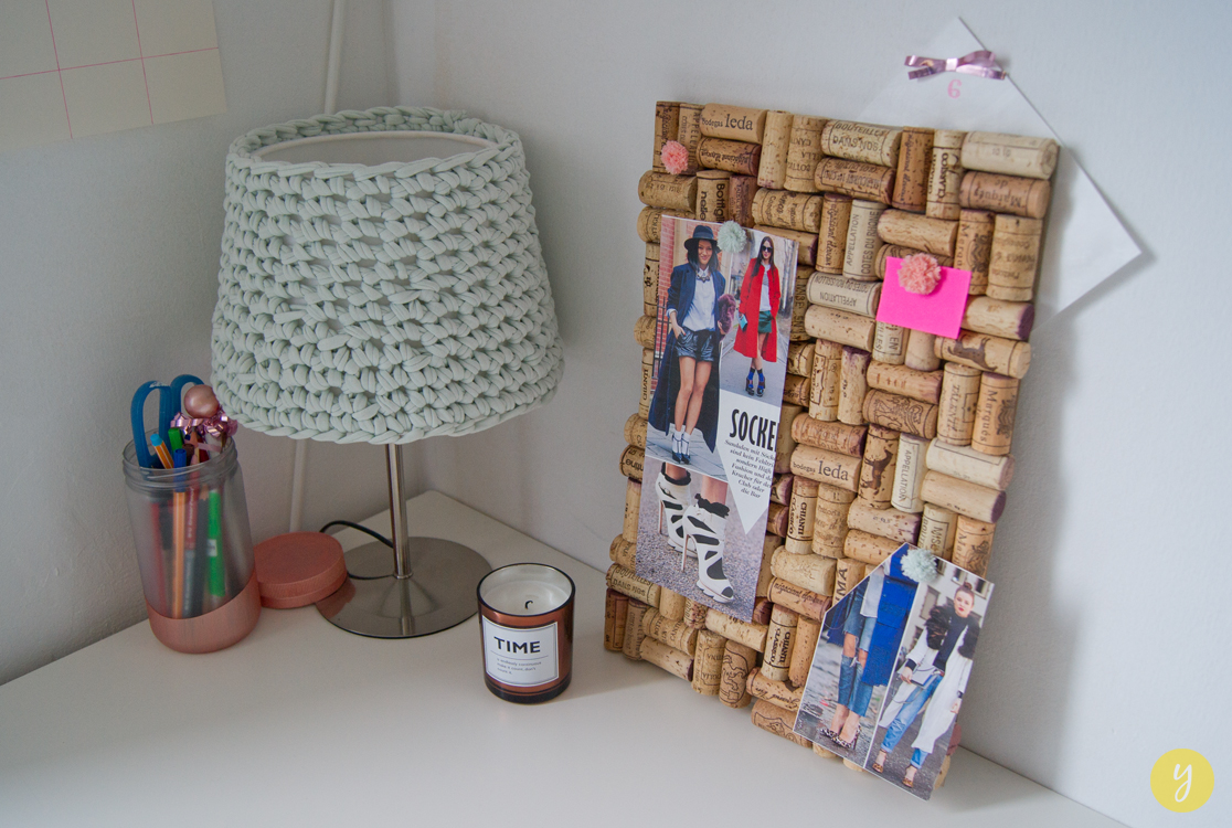 Adventskalender 06.12.14 – DIY Weinkorken-Pinnwand