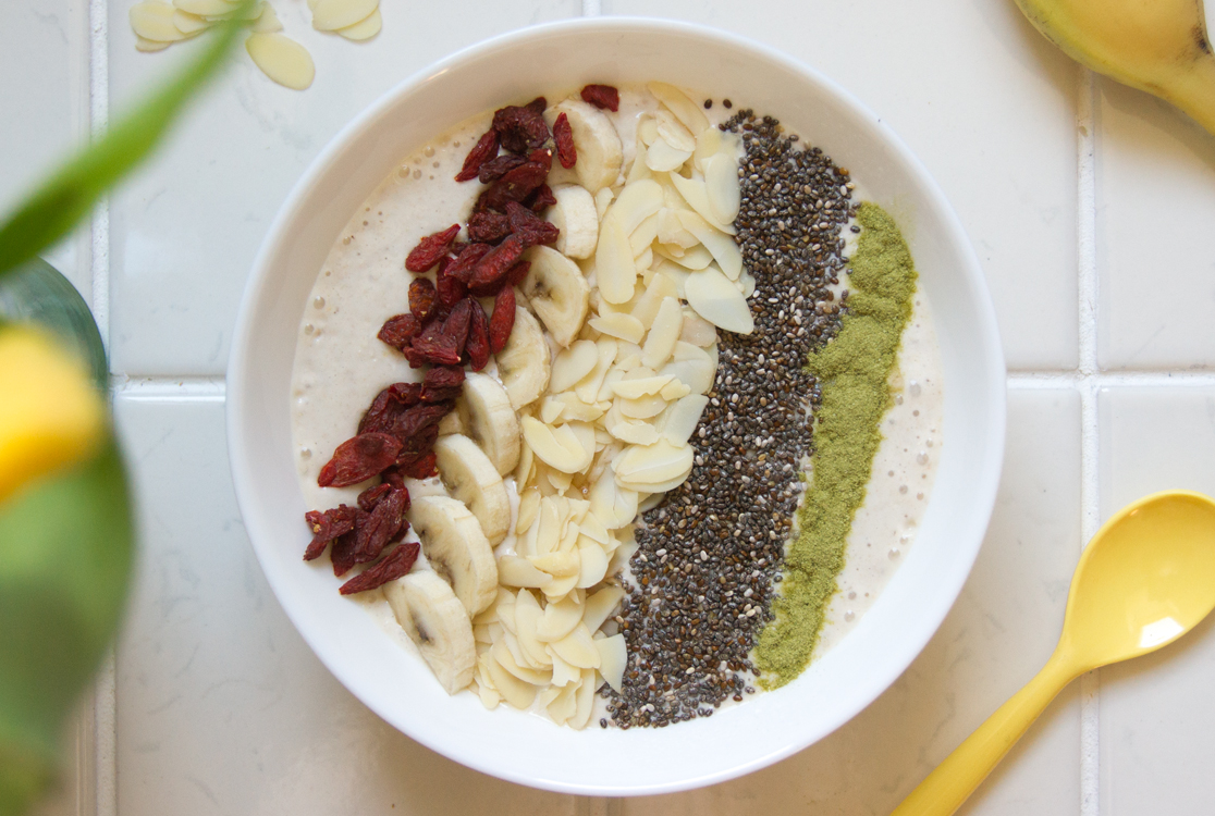 Bananen Breakfast Bowl