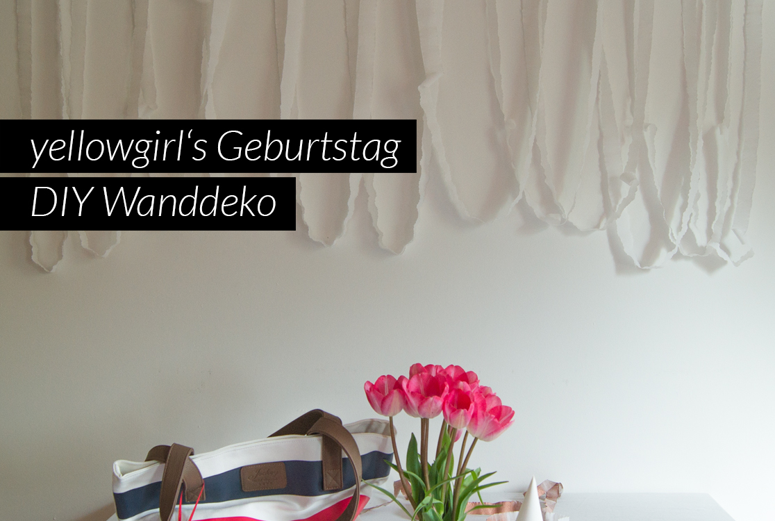 yellowgirl s geburtstag diy wanddeko yellowgirl der diy lifestyle blog. Black Bedroom Furniture Sets. Home Design Ideas