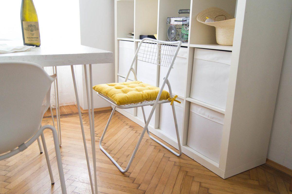 Metallsessel Restaurieren: Entrosten Und Lackieren   Yellowgirl Der DIY Und  Lifestyle Blog
